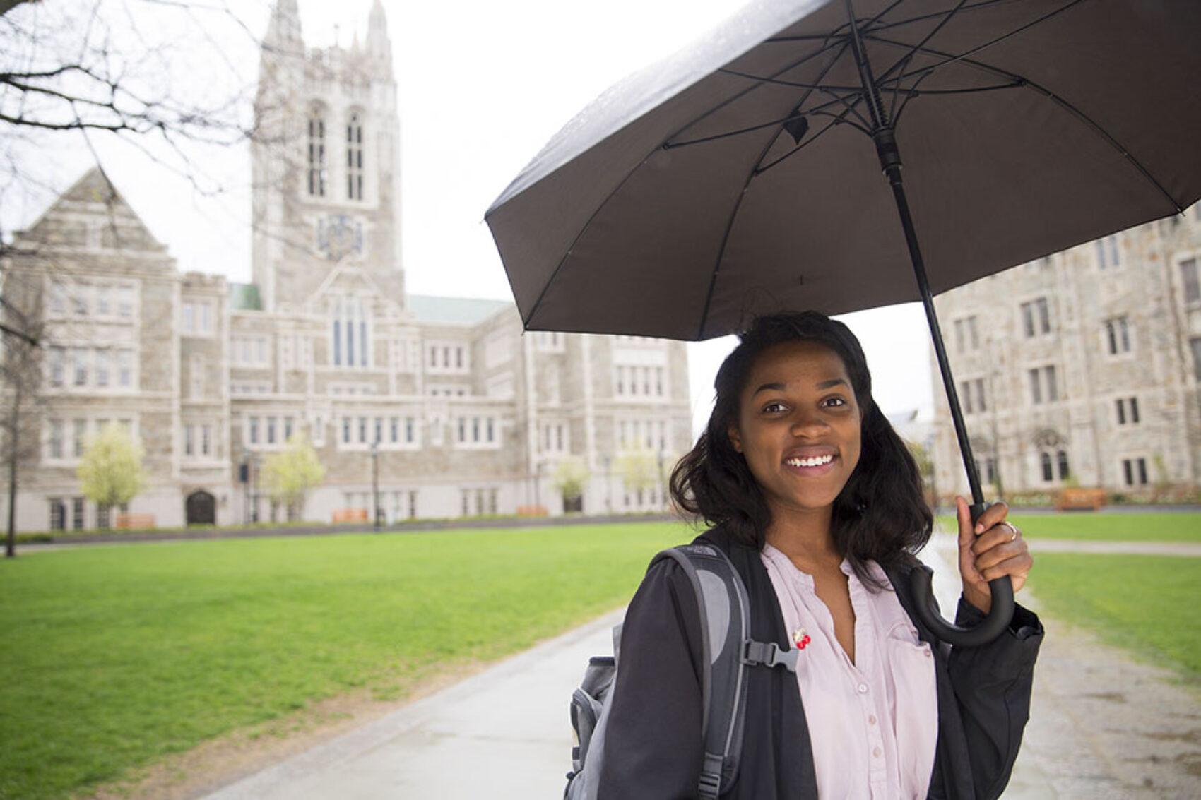 Arnesia Banks, Boston College Class of 2016, Political Science